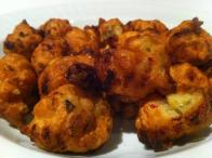 Lump Crab and Conch Fritters