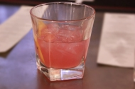 Blinker-- American Rye, Grapefruit, Grenadine