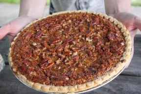 Southern Sweet Potato Pecan Pie